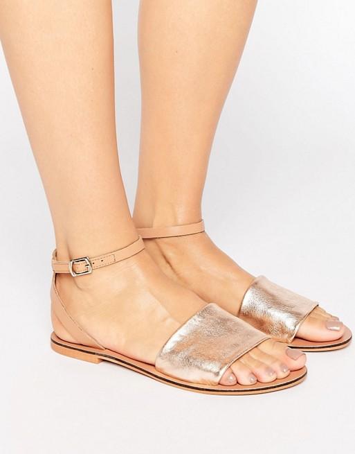 Кожаные сандалии FUDGE   ASOS