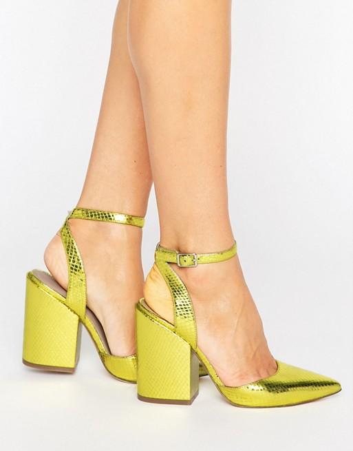 Остроносые туфли на каблуке ASOS PICK N MIX
