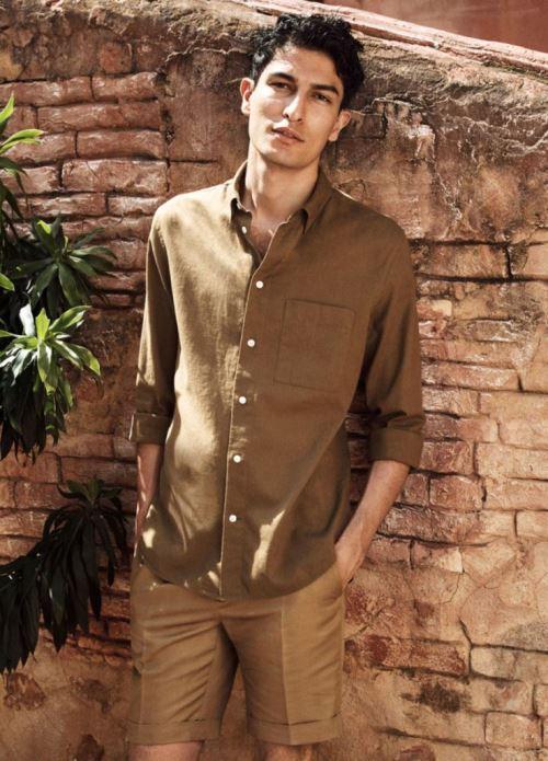 Льняная рубашка | H&M