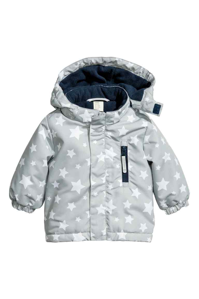 Утепленная куртка для малыша | H&M