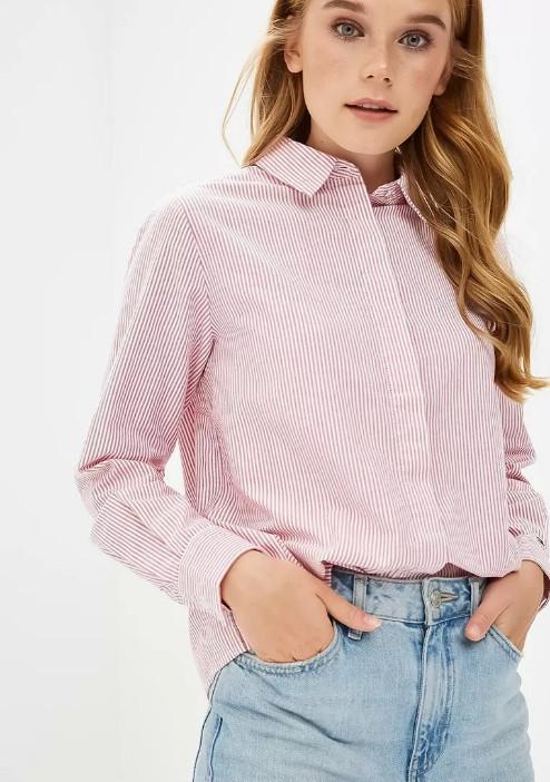 Женские рубашки с длинным рукавом в Ламода