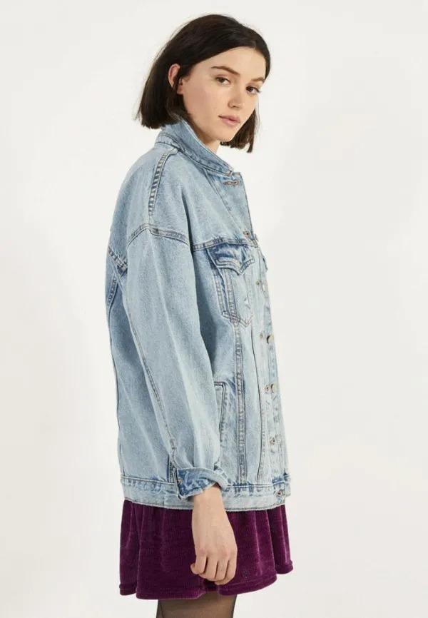 Женские джинсовые куртки в Ламода