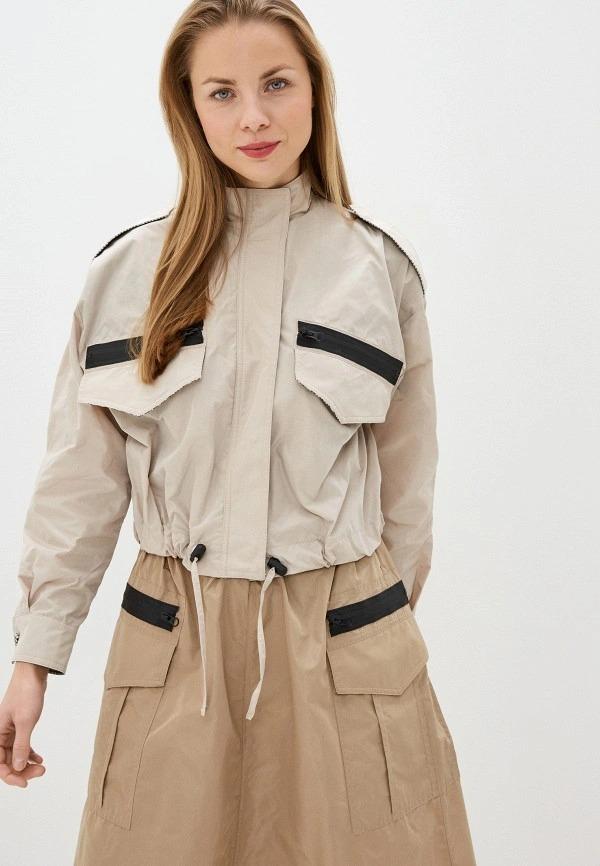 Женские легкие куртки и ветровки в Ламода